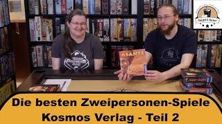 Die besten Zweipersonenspiele - Kosmos Teil 2