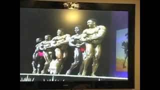 QUINCY ROBERTS POSEDOWN & AWARDS 1996 MASTERS MR.OLYMPIA