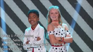 Miles Brown - Dancing With The Stars: Juniors Performances