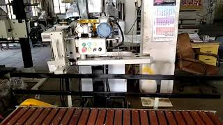 Automatic Column with Bag Infeed & Wooden Conveyor