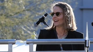 Jodie Foster Joins The United Voices Rally In Beverly Hills