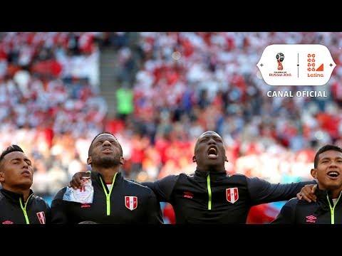 El Himno Nacional del Perú se escucha en un mundial luego de 36 años | Perú vs Dinamarca
