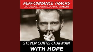 With Hope (Performance Track In Key Of B)