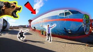 EXPLORING AIRPLANE GRAVEYARD