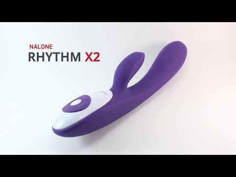 Vibrador Recarregável Inteligente Rhythm X2 Nalone