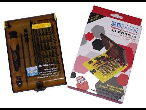 Набор прецизионных отверток JK-6089 Tool Kit Torx от JACKLY. Подарок любимому мужчине
