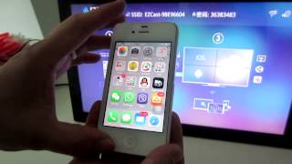 EZCast iPhone mirroring full screen AIYOS Technology