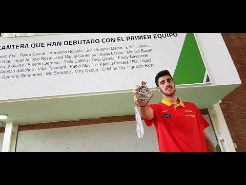 Ignacio Rosa, plata en el Europeo Sub-20 de Baloncesto
