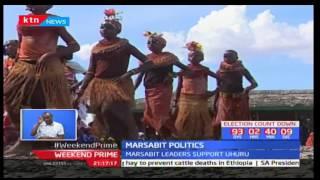 Leaders of Marsabit rally behind President Uhuru Kenyatta at the Marsabit cultural festival