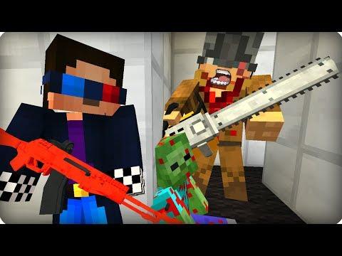 Логово огромного зомби людоеда [ЧАСТЬ 3] Зомби апокалипсис в майнкрафт! - (Minecraft - Сериал)