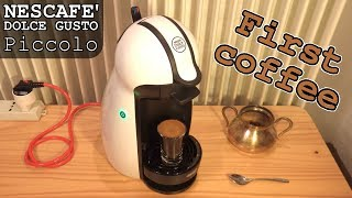 NESCAFÉ DOLCE GUSTO Piccolo • Unboxing and First Coffee