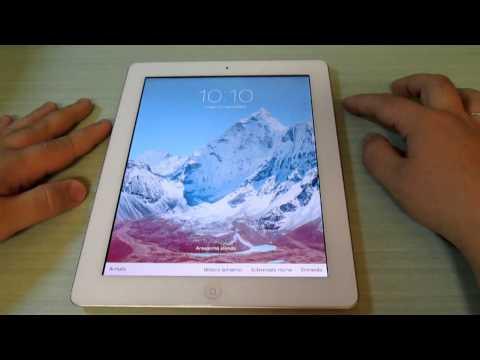 Apple iPad 4 - Video prova IOS7
