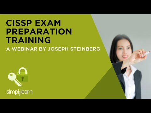 CISSP Exam Preparation Training   Simplilearn Webinar - YouTube
