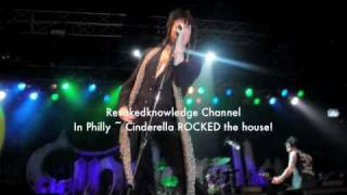 "Cinderella ""Winds  Of  Change"" 2010 concert pics"