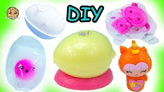 Does It Work? Surprise Egg Blind Bags Smooshins Squishy Kawaii Dolls DIY Maker