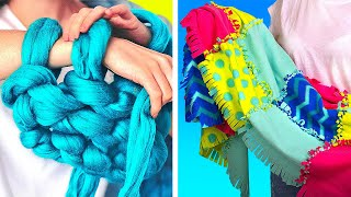 DIY Warm Blankets ||  Blankets Made Of Sweater Scraps And Merino Wool
