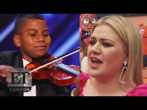 Kelly Clarkson Reacts To 'AGT' 'Stronger' Audition