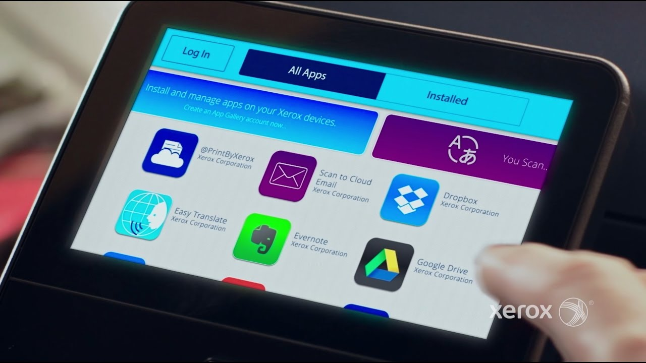 Xerox® ConnectKey® Technology and the Apps Advantage YouTube Video