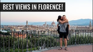 The best views in Florence + famous sights | Italy Days 14 & 15