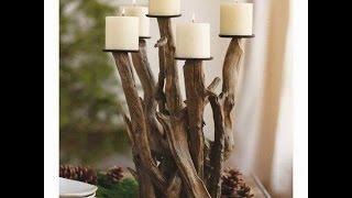 Handmade Craft Ideas - Driftwood Art + DIY .