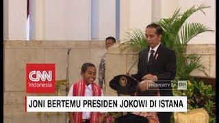 Joni Minta Sepeda & Rumah ke Jokowi ; Cerita Joni Pada Presiden Jokowi Sebelum Panjat Tiang Bendera