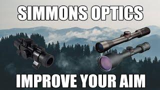 Simmons 8-Point 3-9X50mm Riflescope Matte Truplex - 560520
