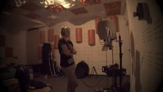 Video ONA - Let me Fly with You (recording vocals)