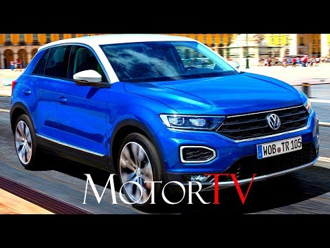 test drive 2018 volkswagen t roc 2 0 tsi eng. Black Bedroom Furniture Sets. Home Design Ideas