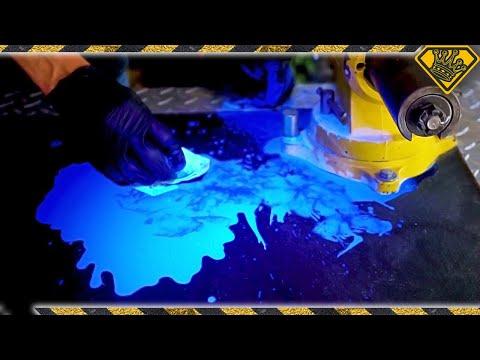 Cool Tricks with Ultraviolet Ink