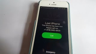 How to unlock lost mode iphone.