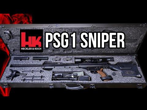 Heckler and Koch PSG1 sniper rifle details