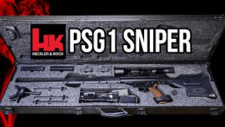 Heckler and Koch PSG1 sniper rifle details