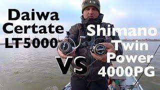 Катушка shimano twin power pg 4000