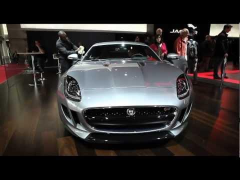 New Jaguar F-Type sneak preview – Paris Motor Show 2012