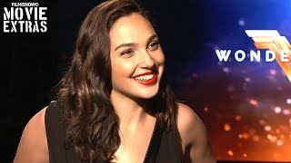 Wonder Woman 2017 Gal Gadot Talks About Her Experience Making The Movie