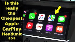 Cheapest Apple CarPlay Headunit!! (Early 2019)