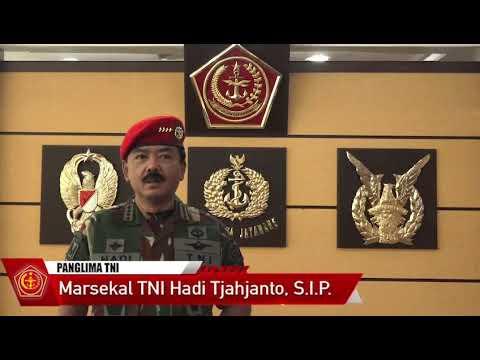 Ucapan Panglima TNI Pada HUT Kopassus Ke-68