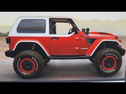 SEVEN AMAZING JEEP CONCEPTS HEADED TO MOAB UTAH 2018 EASTER SAFARI