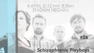 the cranberries Live in Malaysia 2012 #16. Schizophrenic Playboys [fan-rec][audio only]