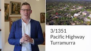 3/1351 Pacific Highway Turramurra