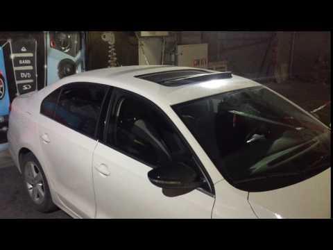 VW Passat rain closing hidden feature VCDS mod with rain