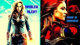 Captain Marvel SPOILERS Indicate Severe Wokeness