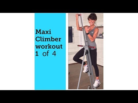 Maxi Climber Rosalie Brown 20 Minute Workout 1 of 4