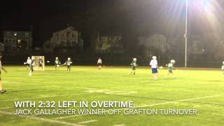 preview picture of video 'Highlights from Worcester's win over Grafton lacrosse'