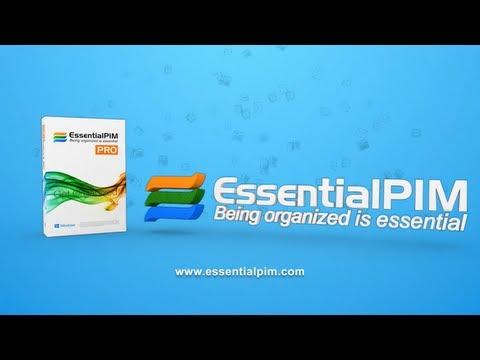 EssentialPIM tutorial