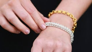 DIY How To Jewellery- Chainmaille Bracelet Tutorial