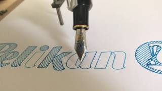 AxiDraw V3 with a Pelikan