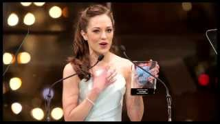 "2013 Broadway.com Audience Choice Awards: Laura Osnes Wins Favorite Actress for ""Cinderella"""