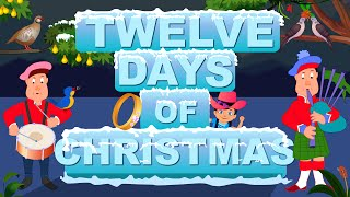 Twelve Days Of Christmas | Christmas Carol For Kids