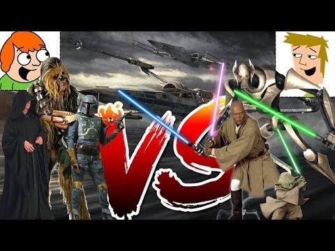 Star Wars | Kartičkový PLAY-OFF | Prequely vs. originální triologie